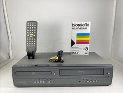 Magnavox DV200MW8 DVD VCR Combo Player VHS Recorder With Rem