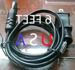 Power Cord Cable Plug for Panasonic DVD VHS Combo Recorder V
