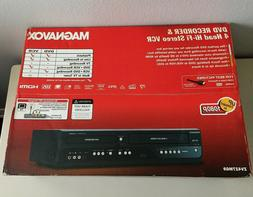 NEW Magnavox ZV427MG9 DVD Recorder VCR Combo HDMI 1080p Up-C